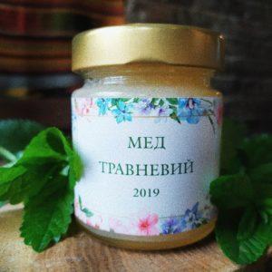 мед та концентрат фруктової пасти